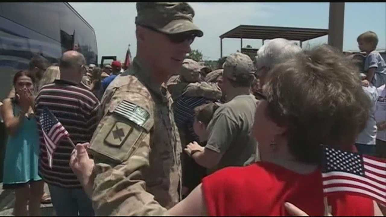 Son returns home after spending almost one year in Afghanistan