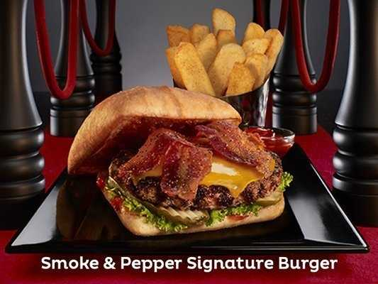 Red Robin features so many delicious items from Fire-Grilled Burgers to Wraps to Entrees and Salads and so much more. One of the best sellers is their daily $6.99 special the Reds Tavern Double with BOTTOMLESS steak fries!