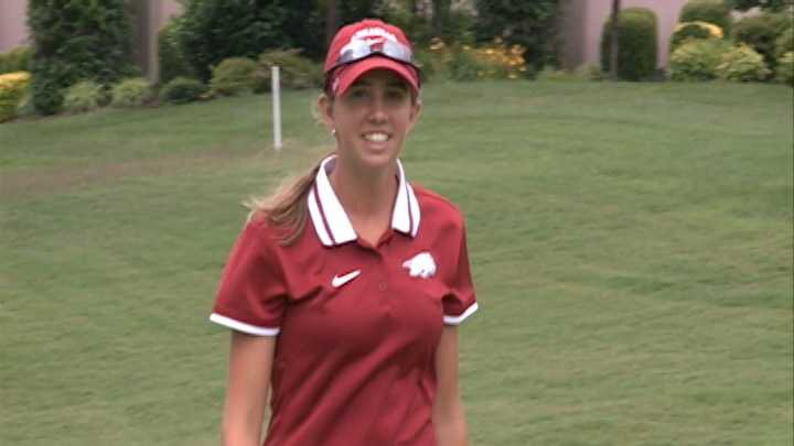 Incoming Arkansas freshman golfer Summar Roachell