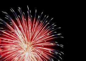 Prairie Creek Marina will be hosting a fireworks display July 6. The display is scheduled to begin around 9 p.m.