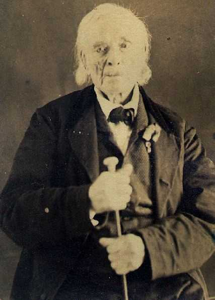 William Hutchings enlisted when he was 15 years old. He was captured at the Battle of Castine, but the British let him go because of his age. He lived to be 100.