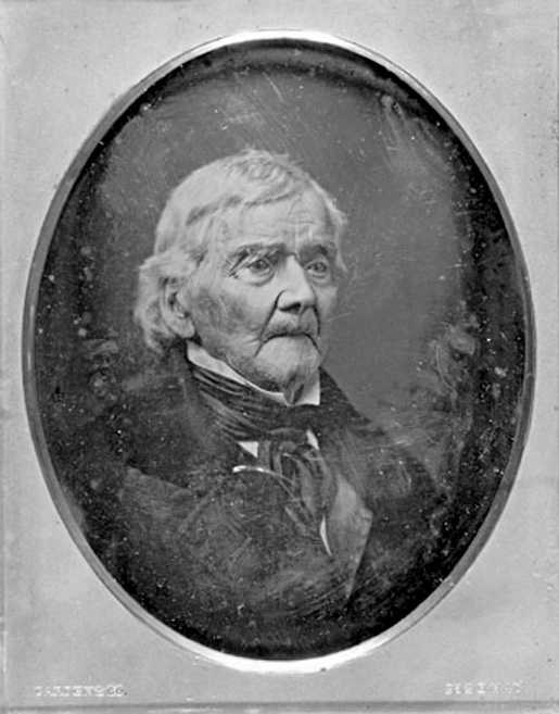 Daniel Spencer enlisted ag the age of 20. He survived the winter of 1777/1778 in Valley Forge. This picture was taken in 1853 at a 4th of July celebration in New York. He died the next year.