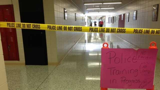 Clarksville police train.JPG