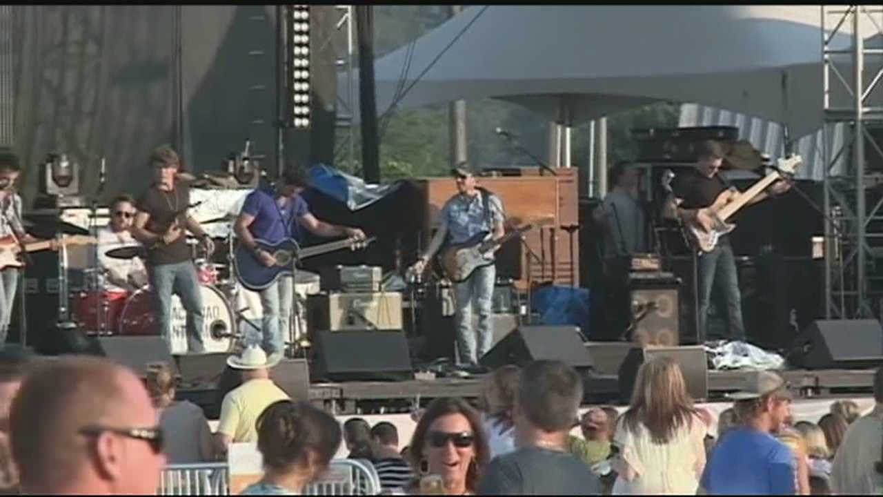Many music fans say they'll drive to Rogers to see concerts at the AMP.