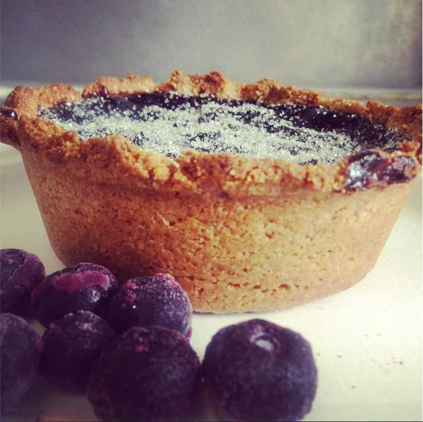 Kind Kitchen in Bentonville serves fresh blueberry and blackberry tarts from there food stand every Saturday at the farmer's market on the Bentonville square.