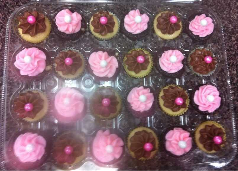 Kirby's Kupcakes in Rogers has a full list of fresh baked cupcakes everyday. Chazzberry cupcakes are a local favorite and got there name from customers.