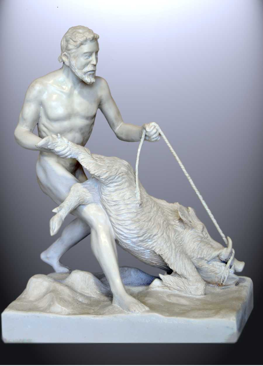 Capturing the Erymantian Boar was one of the 12 labors of Hercules.