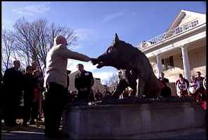 'Il porcellino' will grant the wishes of anyone who rubs the statue or throws coins into its fountain.
