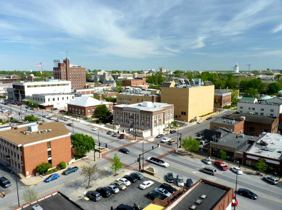 4. Columbia, MO (University of Missouri)