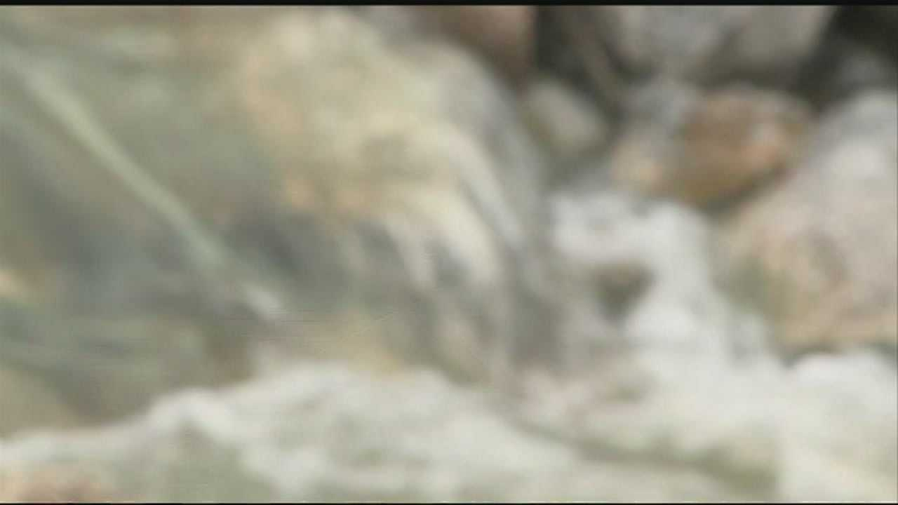 Johnson's mayor says the city is planning to re-route a creek that causes flooding.