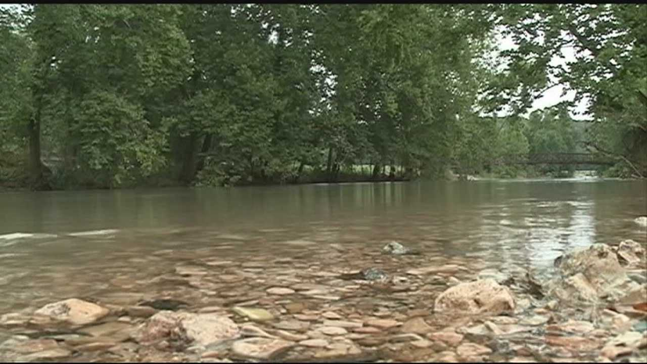A Bella Vista woman is getting read for the threat of more flooding this week.