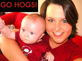 Cutest Hog Fans!