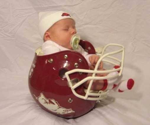 Born to love the HOGS!!!!