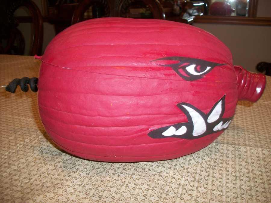 Razorback Pumpkin