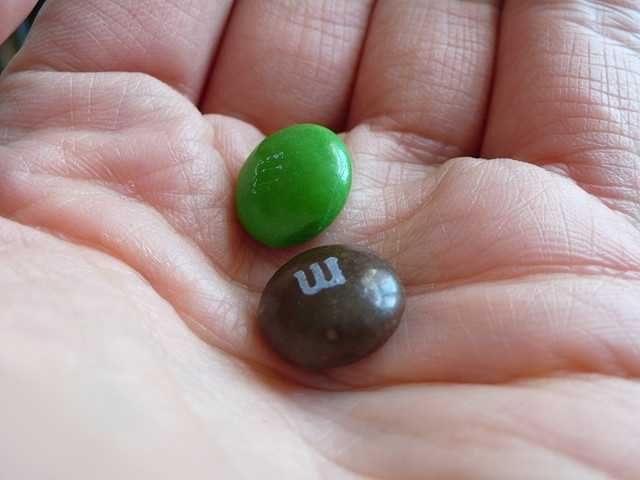Forrest Mars came up with the idea for M&Ms during the Spanish Civil War. He soon realized soldiers were looking for a taste of home - chocolate - but needed something to endure hot temperatures. Mars took their request as a challenge and eventually came up with the candy originally packaged in heavy tubes.