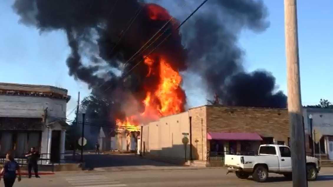 Fire in Charleston September 5th