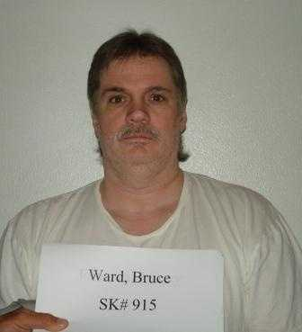 Bruce Earl Ward, age 56, was convicted in 1990 of murdering store clerk Rebecca Doss in Pualski County.
