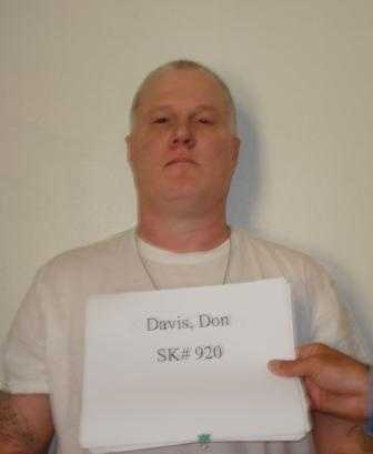 "Don W. Davis, alias ""Don the Juan,"" age 50, was convicted in Benton County in 1992 of murdering Jane Daniels of Rogers."