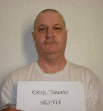 Timothy Kemp, age 53, was convicted in 1994 in Pulaski County of shooting and killing four people in a Jacksonville trailer.