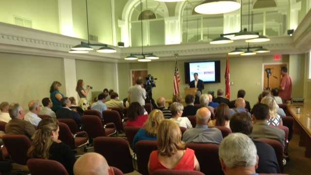 Thermold Magazines's announcement was made in Fort Smith Tuesday morning.
