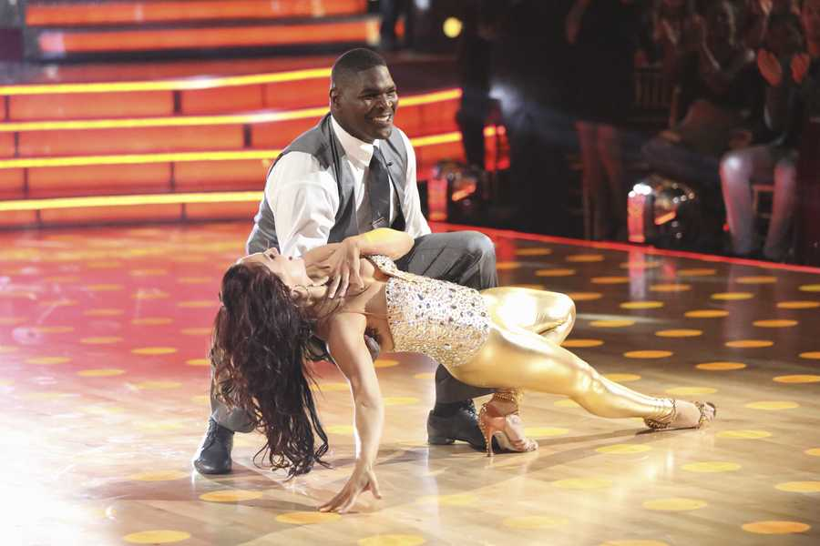 "KEYSHAWN & SHARNA - ""Dancing with the Stars"" is back with an all-new cast and fresh show format for Season 17.  (Photo by: ABC/Adam Taylor)"