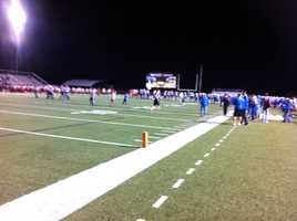 Image from the Rogers Mounties vs. Northside Grizzlies game