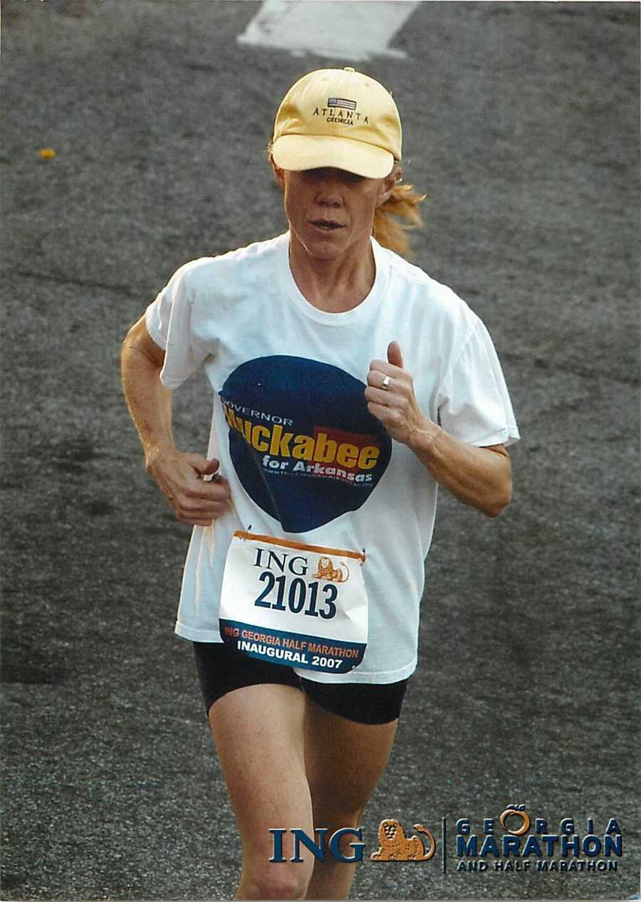 Laura loves to run. She has done several marathons and half marathons with her most recent being in Pisa, Italy last year.
