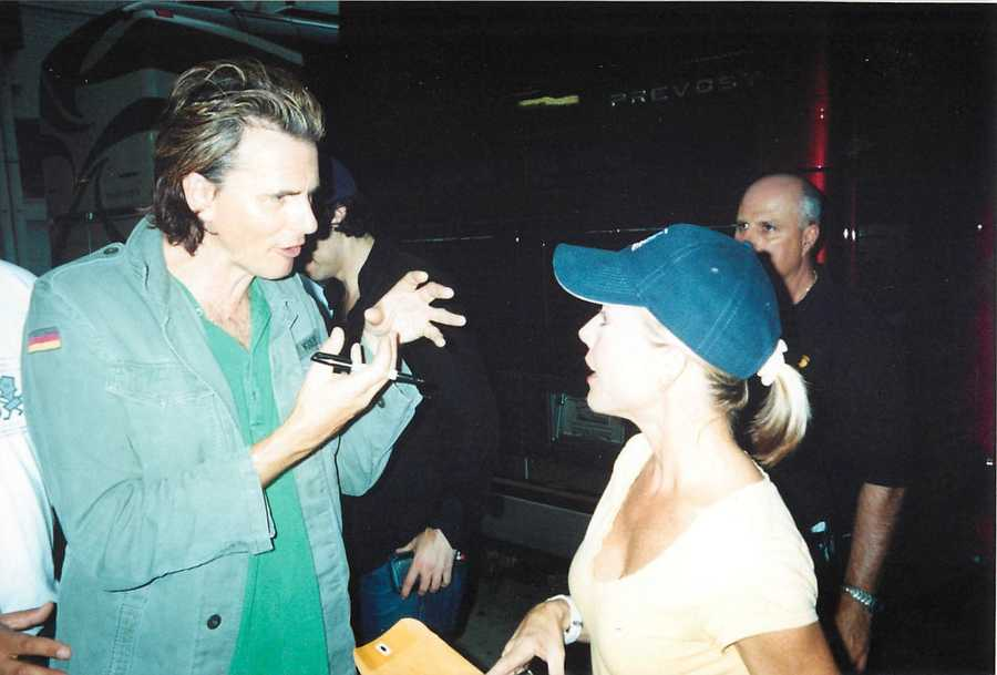 Since then she has seen the band many times and done numerous interview with them.