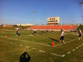 Pea Ridge High School vs. Gravette High School