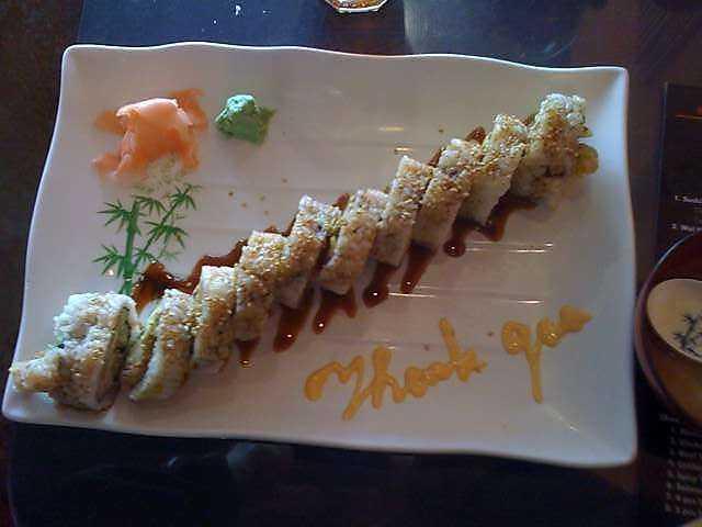 Sushi House in Bentonville
