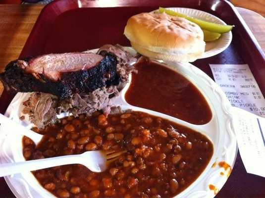 Wild Horse Mountain Bar-B-Que is located in rural Sallisaw, OK. They get pretty busy around lunch time and are a hit among our viewers!