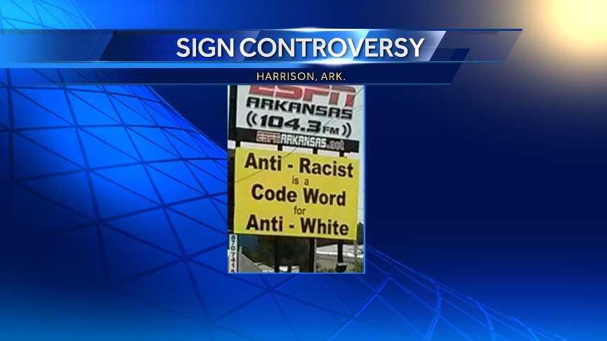Harrison Sign controversy.jpg