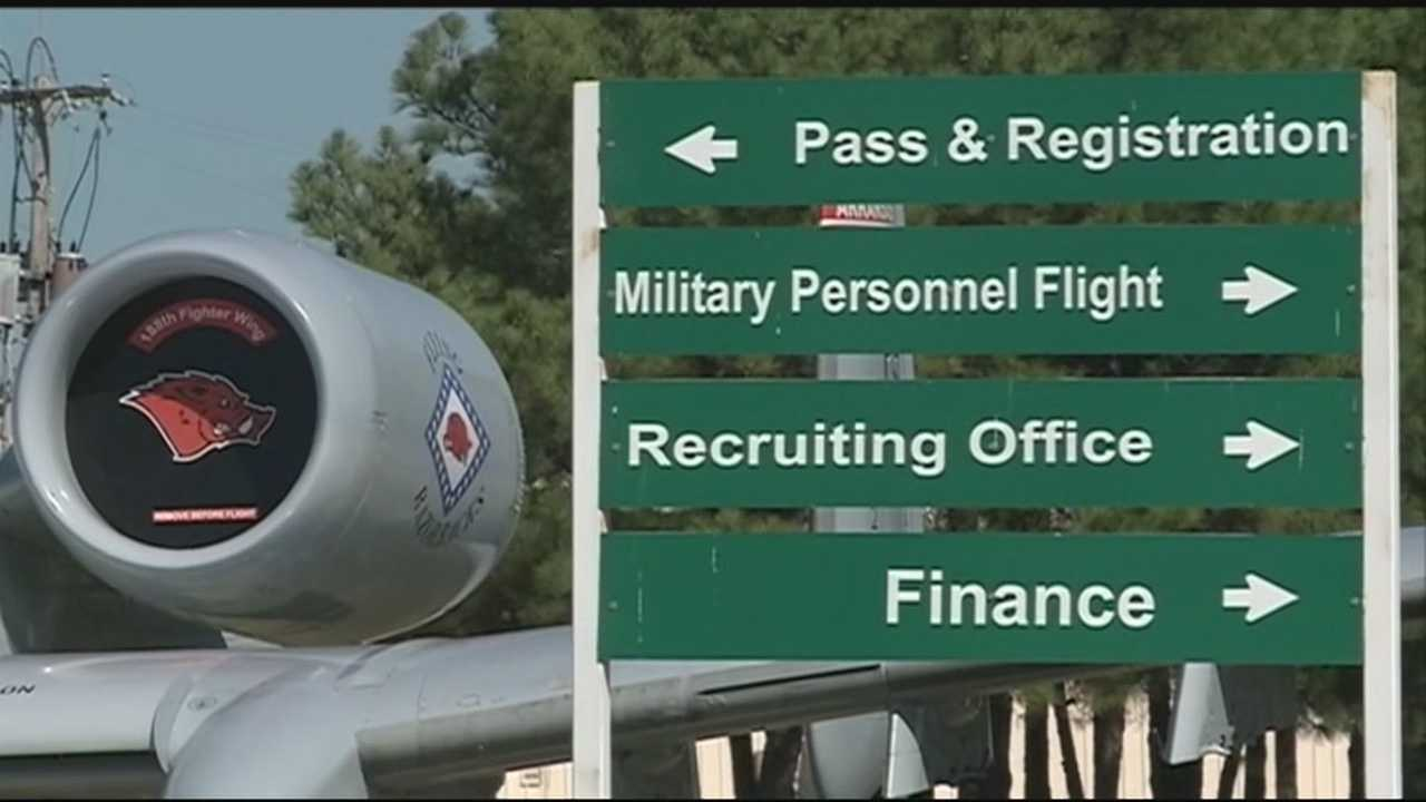 Employees at the 188th Air National Guard will head back to work as the Government Shutdown ends.