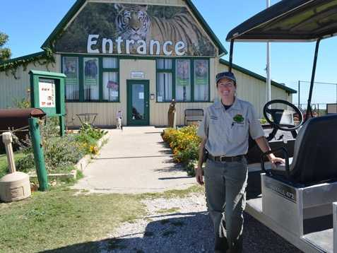 Our tour guide at Turpentine Wildlife Refuge