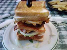 The Big Bopper at Hard Luck Cafe in Gravette