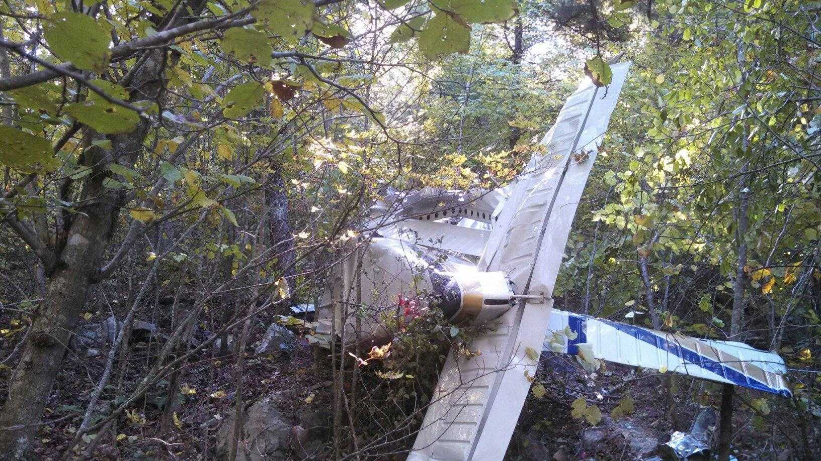 Ray Broadbent's plane was found Thursday