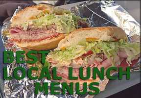 We asked and you gave us your favorite lunch hots pots! Sandwiches, soups, burgers and salads YUM!