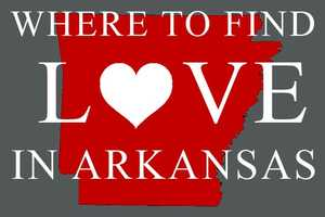 Which Arkansas counties have the most singles? Click through to find out!
