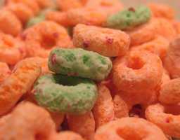 All Apple Jacks were orange until green pieces were added in 1998.