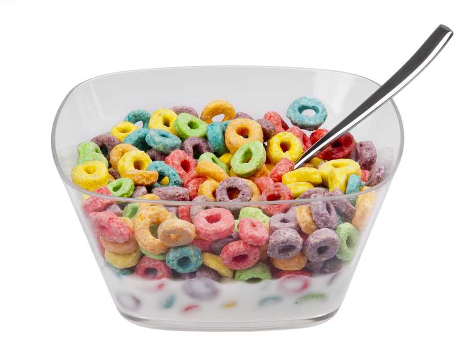 Five Kellogg cereals are among the top 10 best-selling brands in the United States: Frosted Flakes, Special K, Frosted Mini-Wheats, Froot Loops, and Raisin Bran.