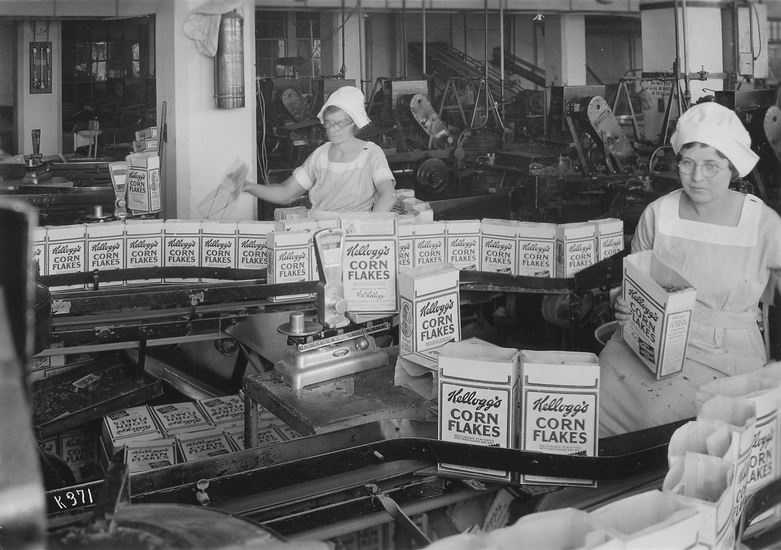 Today, Kellogg products are made in 35 different countries.