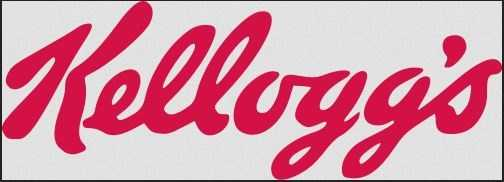 The Kellogg logo was first handwritten by founder Will Keith Kellogg.