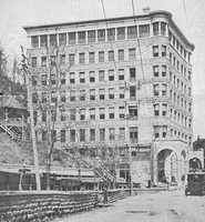 You can take haunted tours at the Basin Park Hotel in Eureka Springs, built in 1905.