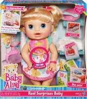 Baby Alive Real Surprises Doll