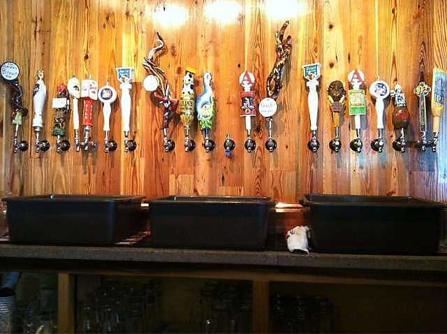 The Tanglewood Branch Beer Co. in Fayetteville opened in July, 2011.
