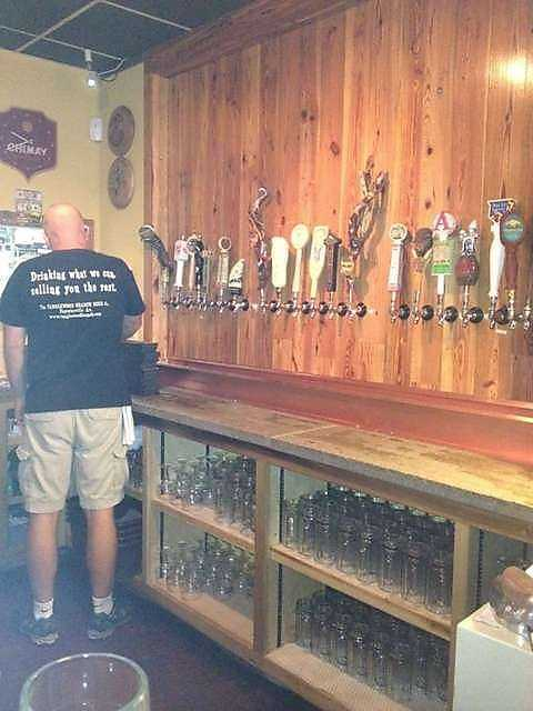 Of all the brews on tap, our viewers said they like Tanglewood's Porter the best.