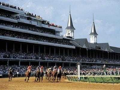 You could unroll your year's supply of toilet paper across the entire length of the Kentucky Derby racetrack and still have paper left over!