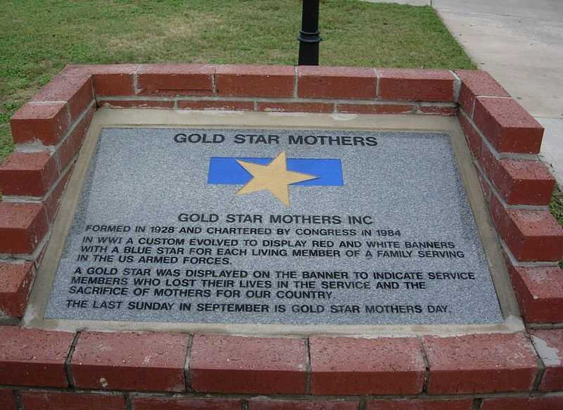 Sept. 29 - Gold Star Mother's DayDesignated by Gov. Beebe
