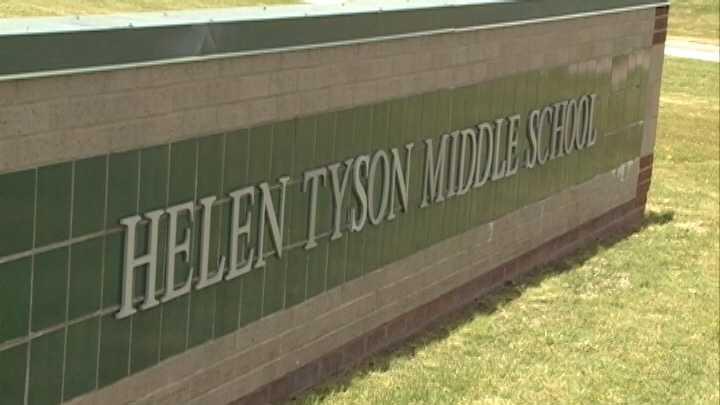 Helen Tyson Middle School in Springdale