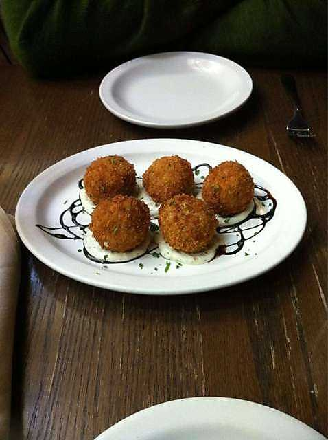 Risotto Balls at Greenhouse Grille in Fayetteville